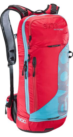 Evoc FR Lite Race Backpack 10 L red/neon blue